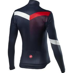 Castelli Mid Thermal Pro LS Jersey Men savile blue/white red